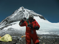 18.05.2012 Camp 4 / Mt. Everest / Nepal 8.000m